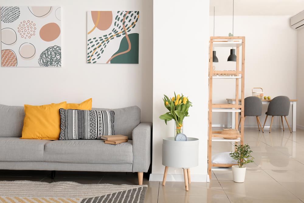Interior of a senior apartment